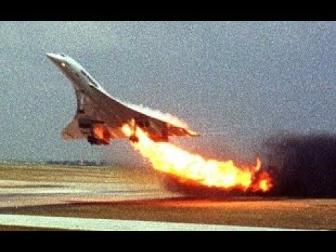 Concorde In Flames - Air France Flight 4590 - P3D