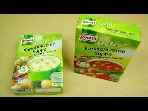 Knorr Activ Instant Soups [Tomato | Potato]