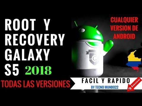root y recovery samsung s5  SM-G900M  SM-G900F   todos los modelos 2018