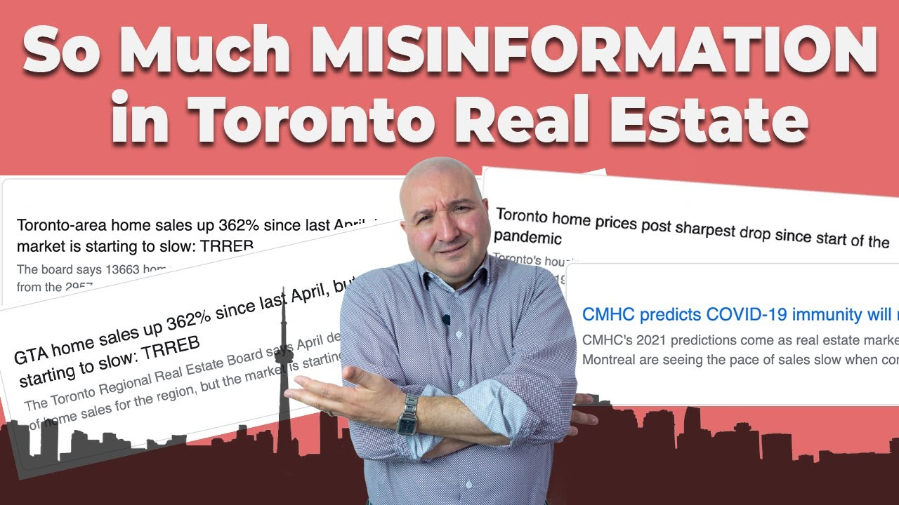 So Much MISINFORMATION in Toronto Real Estate - As of May 5 - Team Sessa