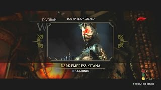 Mortal Kombat XL - St. Patrick's Day with D'Vorah (Unlocked Dark Empress Kitana Finally!)