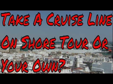 Cruise Ship On Shore Excursions Take the Cruise Line Tour or Go It Alone?
