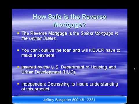 Reverse Mortgage Presentation 2013