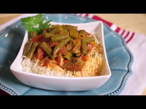 How to make Shorbat Fasoulia / Green Bean Stew (Assyrian Food)