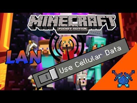 LAN USING HOTSPOT - Minecraft PE (Pocket Edition)