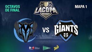 Myrtia Wolves VS Giants Only The Brave - Copa El Corte Inglés - Mapa 1