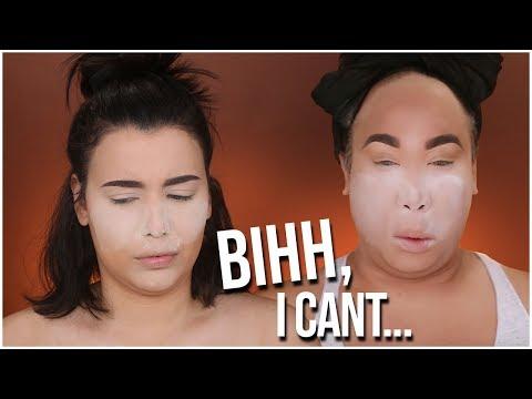 I TRIED FOLLOWING A PATRICKSTARRR MAKEUP TUTORIAL!   MakeupByAmarie