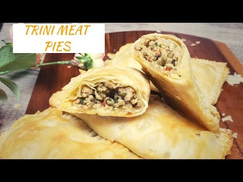 Trinidad Meat Pies / Trini Beef Pie / Chicken Pie Recipe - Episode 171