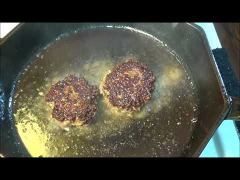Quick Smashed Burgers Or: How Not To Make A Burger Video