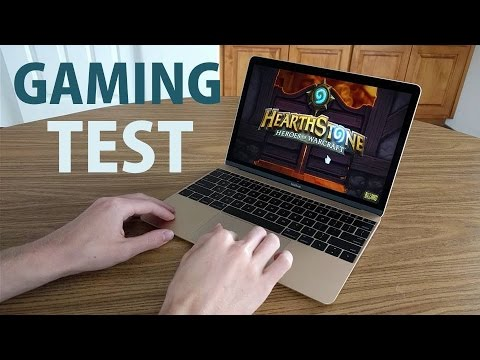 Apple MacBook (12-Inch):  Gaming & Performance Test!
