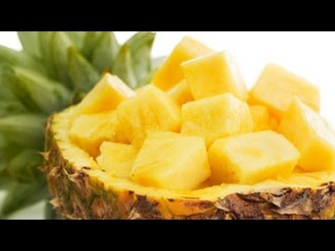 Howto: Cut a Fresh Pineapple Quickly and Easily!