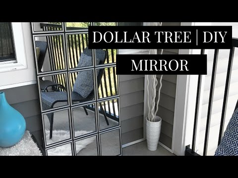 DOLLAR TREE DIY Wall Mirror  | Best DIY Wall Mirror under $20