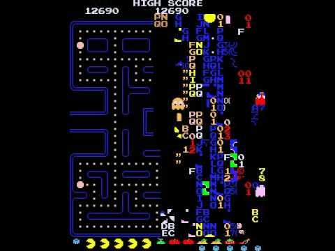 Pac-Man: Level 256 Split Screen Trick