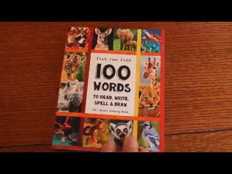 Teach Your Child 100 Words to Read, Write, Spell, & Draw