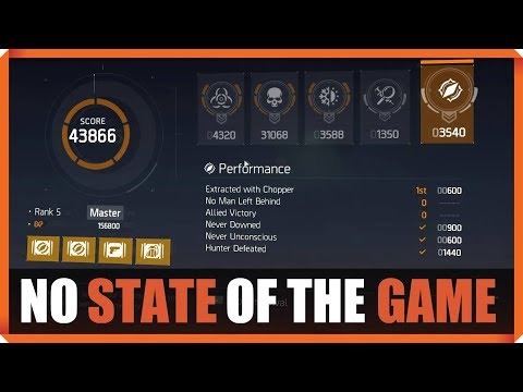 The Division | NO STATE OF THE GAME TODAY | BEST SOLO SURVIVAL SCORE 43866 PVP | 1.8