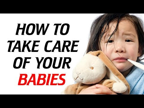 HOW TO REDUCE FEVER IN BABIES.