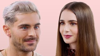 Zac Efron and Lily Collins Take a Friendship Test | Glamour