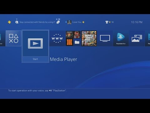How to Put Videos/Movies on PS4