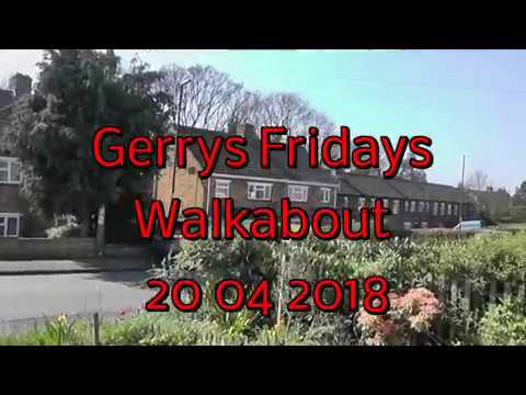 Gerrys Fridays Walkabout 20th april 2018 inc cannons