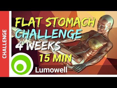 4 Weeks Flat Stomach Transformation: How To Get a Slim Waist Fast