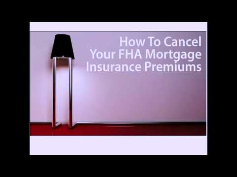 WANT TO KNOW?? How to CANCEL Your FHA Mortgage Insurance Premiums!!