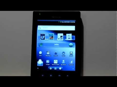 Pandigital Planet Tablet Review with Nook App