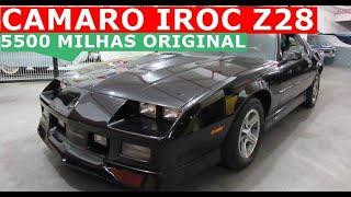Camaro IROC Z28 89 com apenas 5500 milhas todo original de fábrica