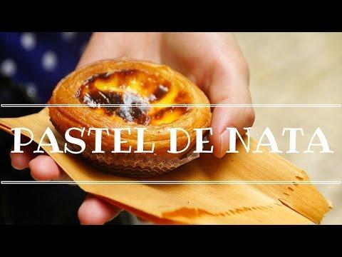 Pastel de Nata: Eating Portuguese Egg Tarts from Pastéis de Belém in Lisbon, Portugal