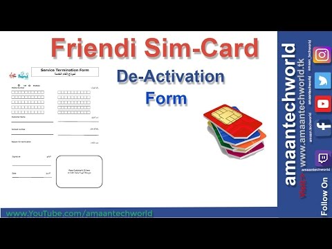 Friendi? || How to De-Actvation! || How to fill Form? and send Email!