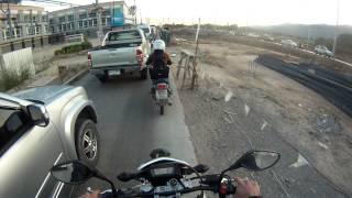 Thailand - Chiang Mai 2015 - Motorbike Driving