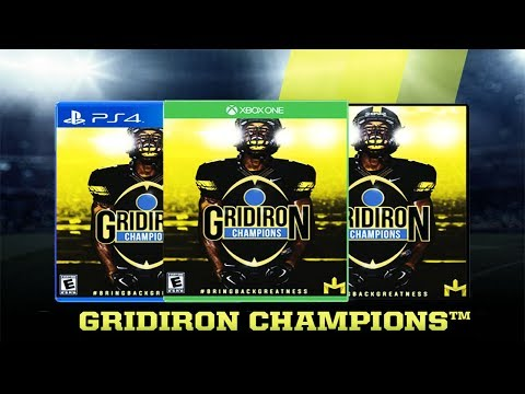 NEW COLLEGE FOOTBALL GAME! Gridiron Champions Coming To PS4, XBOX ONE & PC | How To Get Beta