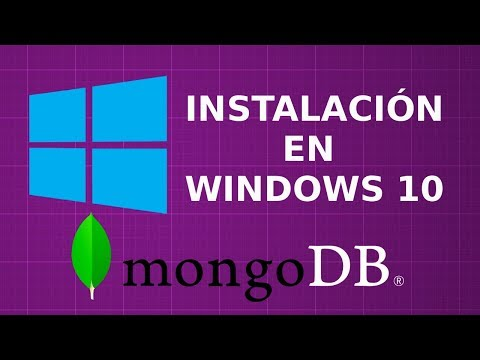 MongoDB instalación en Windows 10