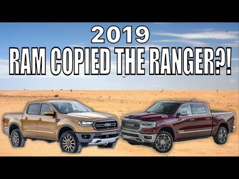 2019 RAM 1500 copied the FORD RANGER?!