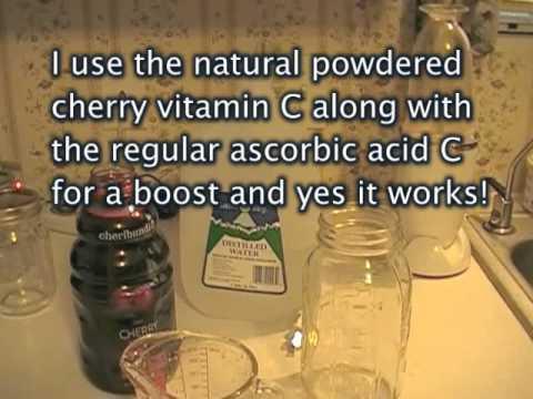 Make your own liposomal vitamin C