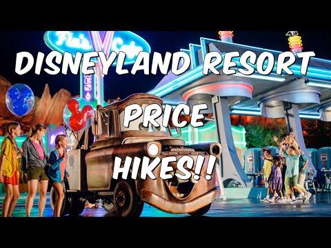 Disneyland Prices Hikes