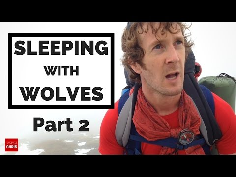 SLEEPING WITH WOLVES | Part 2 - Light my Fire (Wild Camping & Climbing)