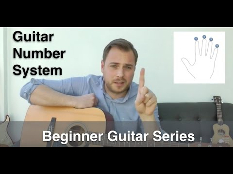 Guitar Number System - Music Number System - Fingers, Frets, And Strings - Beginner Guitar Lesson
