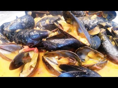 Simple Mussel Recipe with Sauce + BLOOPERS!!!