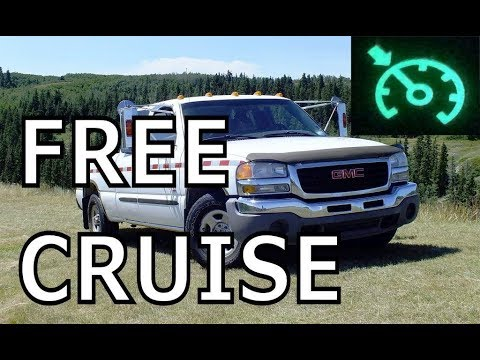 Install CHEAP Cruise Control in your GM vehicle!