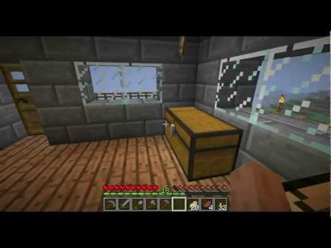 Minecraft Survival: Ep6 Arming Ourselves (Armor, Bow and Arrow, Smelting, Bed, etc) -HD-