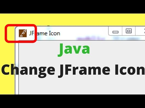 How To Change JFrame Icon In Java Using Eclipse [ with source code ]