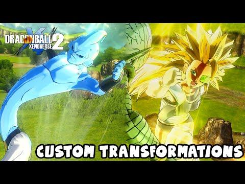 Dragon Ball Xenoverse 2: All CaC Transformations Talk & Balancing Super Saiyan God idea