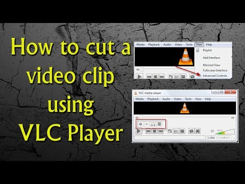 How to cut a  video clip  using VLC  Player-in telugu 2015