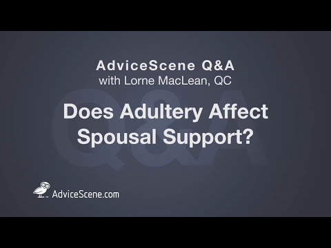 Does adultery affect spousal support? - Spousal Support for Cheating Spouses