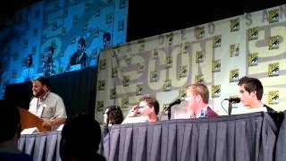 Comic-Con 2012 - Adventure Time panel part 4 - Q&A