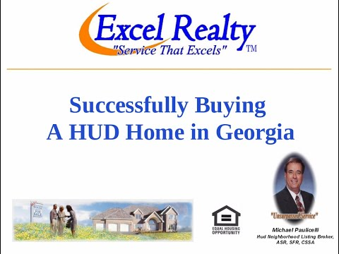 SUCCESSFULLY BUYING A HUD HOME IN GEORGIA   NEW VERSION