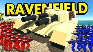 CSGO COMPETITIVE ESPORTS in RAVENFIELD! | Ravenfield Weapon