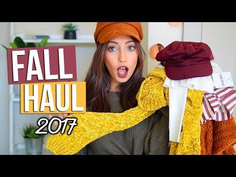 Fall CLOTHING HAUL 2017!! (TRY ON!) | Tara Michelle