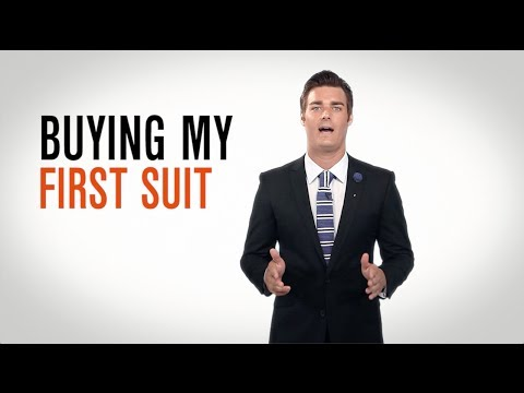 Dress Smarter: 6 Tips for Buying Your First Suit