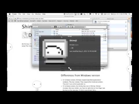 Shimeji for mac (funny and crazy little people)